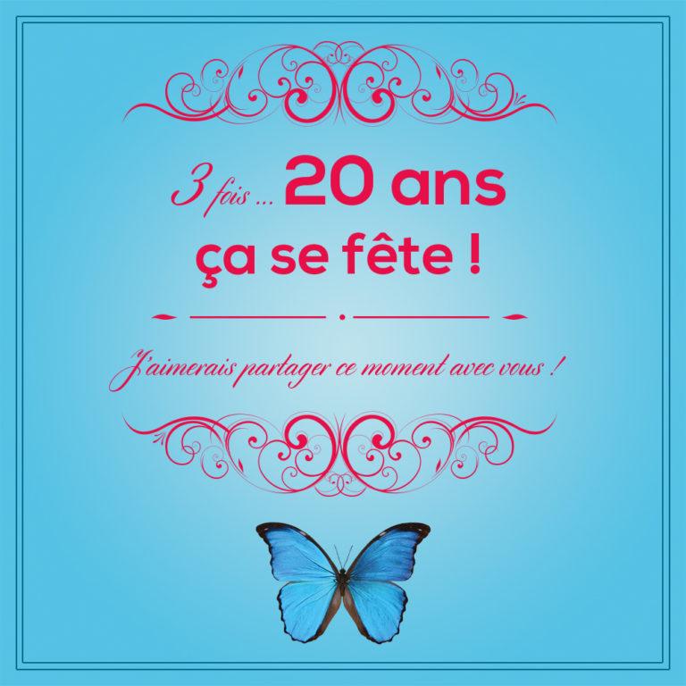 Invitation 60 ans