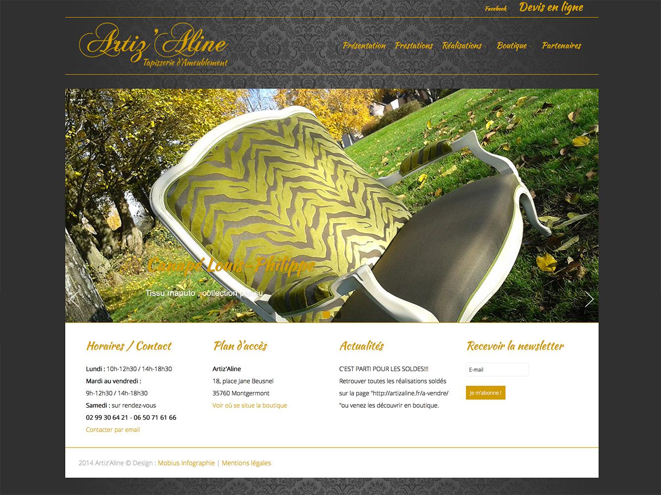 artizaline-site-web